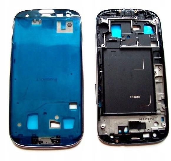 Samsung Ramka LCD Galaxy S3 i9300 Srebrny