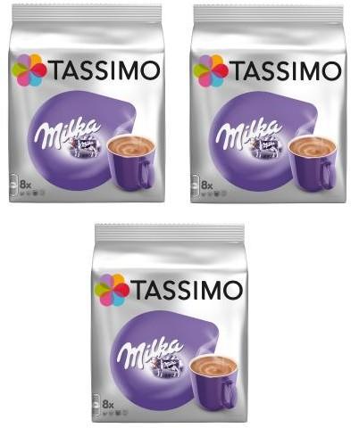 Tassimo Tassimo Zestaw Milka Choco 3 opakowania