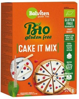 Balviten (chleby, mieszanki do wypieku) Mieszanka Do Wypieku Ciasta Bezglutenowa Bio 500 g