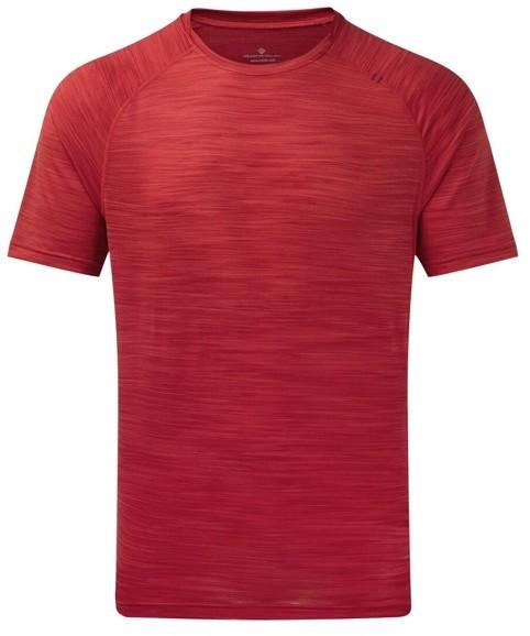 RONHILL RONHILL koszulka biegowa męska INFINITY AIR-DRY S/S TEE czerwona