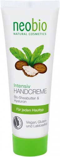 NEOBIO (kosmetyki eko) Krem do rąk intensywny z masłem shea i kwasem hialuronowym EKO - Neobio - 50ml BP-4037067300428