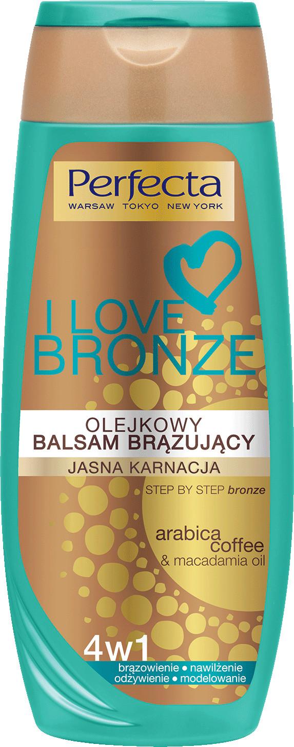 Perfecta Bronze Olejkowy balsam brązujący jasna karnacja 250ml