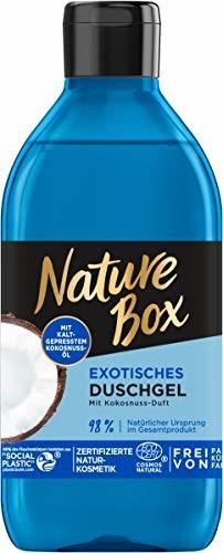 Nature Box Nature Box Egzotyczny żel pod prysznic o zapachu kokosa, 250 ml NDCO2