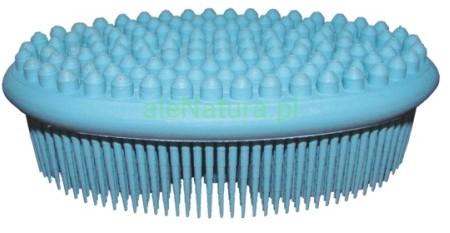 Act Natural Szczotka (gąbka) do kąpieli i masażu - niebieska ACT-5596