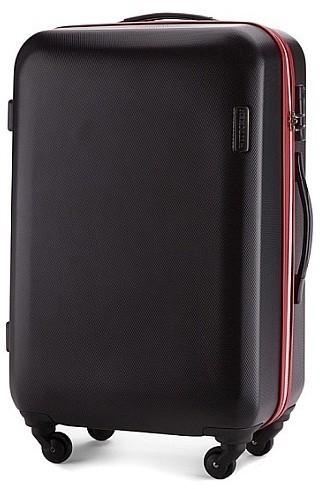 01bc02cf1310e Wittchen Średnia walizka 56 3-612 czarna 56 3-612-10