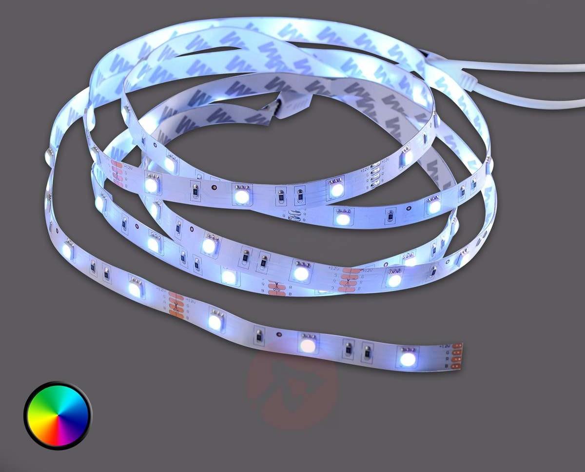 Leuchten Direkt TEANIA - taśma LED RGB ze zmianą barw, 360 lm