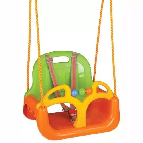 Swing WOOPIE Huśtawka 3w1 Pomarańczowa 28590