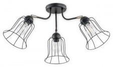 Lemir Ksenia lampa sufitowa 3-punktowa O2733 W3 CZA O2733 W3 CZA