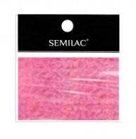 Semilac Holo Pink folia transferowa do zdobienia paznokci