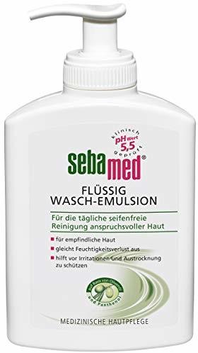 SEBAMED Sebamed płynna emulsja do mycia oliwka w dozowniku 200 ml