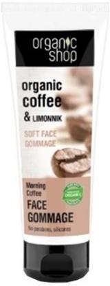 Organic Shop Organic Coffee & Limonnik Face Gommage delikatny peeling do twarzy 75ml 50698-uniw