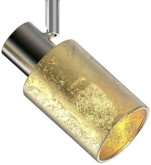 Zuma Line Kinkiet LAMPA ścienna DAVIA TK170811-2 sufitowa OPRAWA listwa PLAFON regulowane reflektorki tuby złote TK170811-2