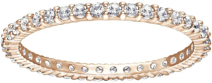 Swarovski Vittore Ring White Rose gold-plated