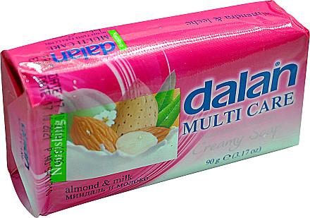 Dalan Kremowe mydło w kostce Migdał i mleko - Multi Care Kremowe mydło w kostce Migdał i mleko - Multi Care