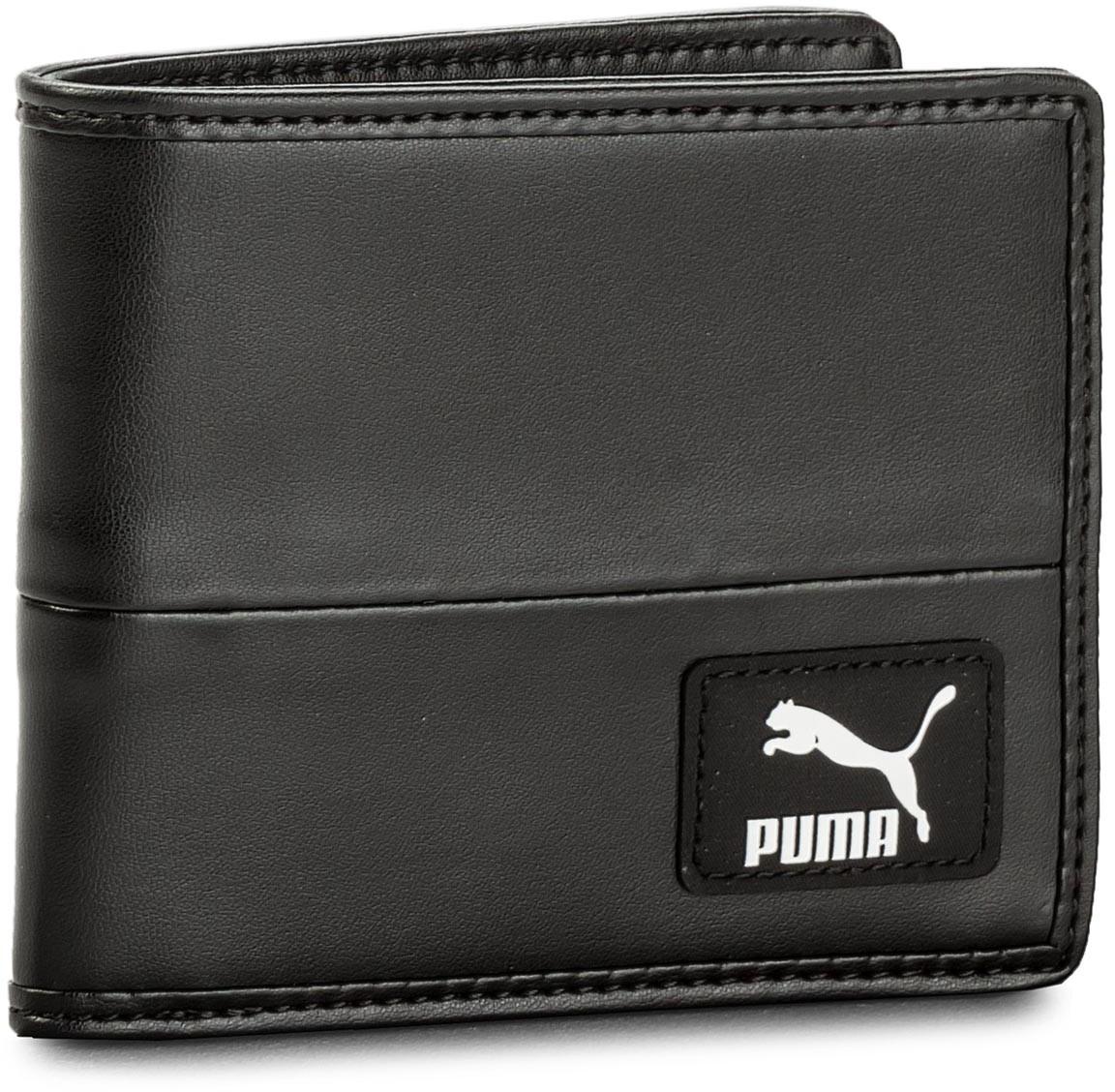 Puma Duży Portfel Męski Orginals Billfold Wallet 075019 01 Black