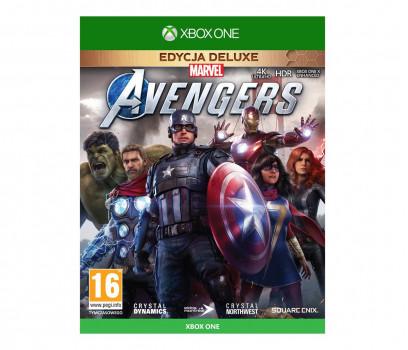 Marvels Avengers Edycja Deluxe (GRA XBOX ONE)