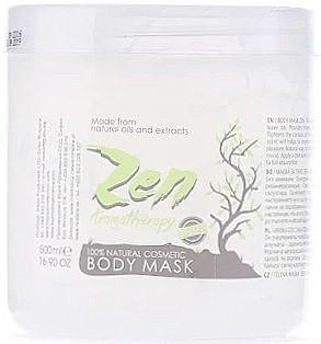 Hristina Cosmetics Maska do ciała - Hristina Cosmetics Sezmar Professional Zen Aromatherapy Body Mask Maska do ciała - Hristina Cosmetics Sezmar Professional Zen Aromatherapy Body Mask