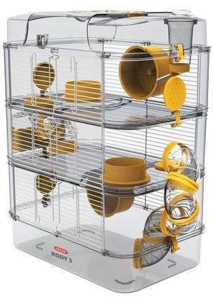 Zolux Klatka RODY3 TRIO żółta