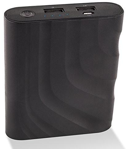 ANSMANN Ansmann Powerbank o pojemności porty USB i wskaźnik stanu LED/zewnętrzny dodatkowy akumulator idealnie nadaje się do modelu Samsung iPhone iPad tablet Kindle w celu uzyskania urządzenia 1700-0089