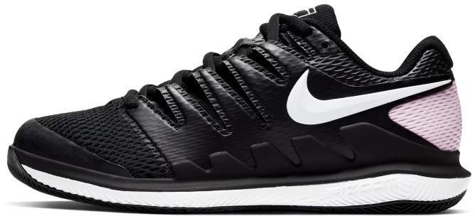 Nike Damskie buty do tenisa na twarde korty NikeCourt Air Zoom Vapor X Czerń AA8027-008