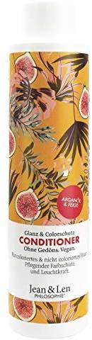 Jean & Len 2800100202 odżywka filozofia, połysk i kolor, olejek arganowy i figa,