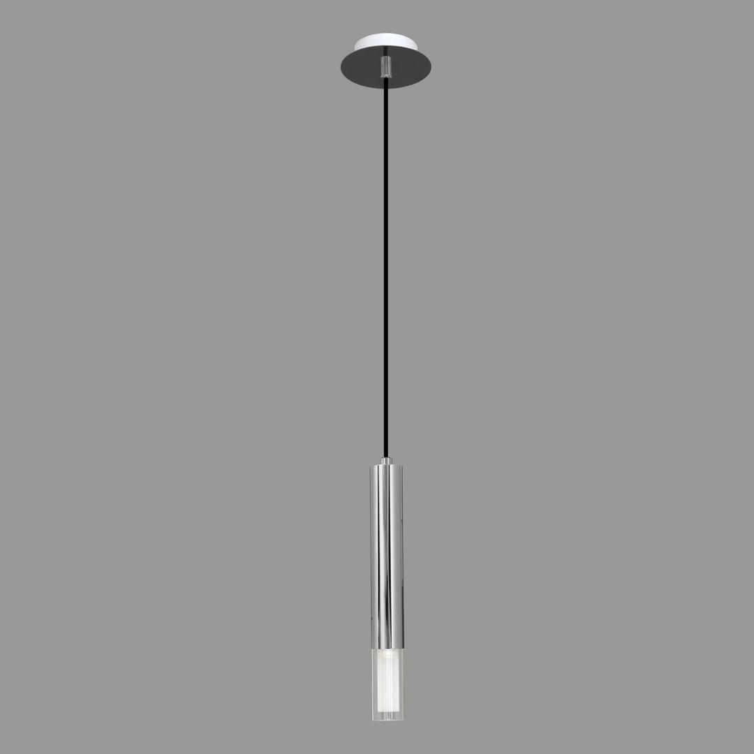 Lumen Light Lampa wisząca Kuga 1 M chrom 3517
