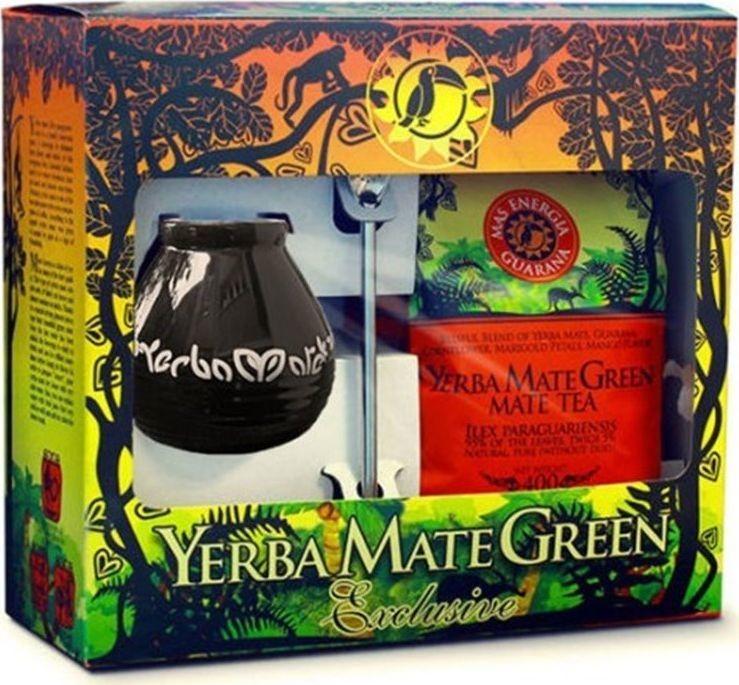 Mate Green Mate Green Yerba Mate Green Mas Energia Guarana 400g + bombilla