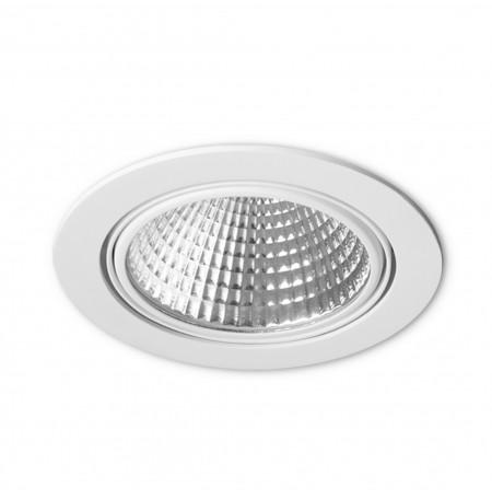Aqform LED EYE M LED 3000K hermetic wpuszczany biały 30416-M930-F1-00-03