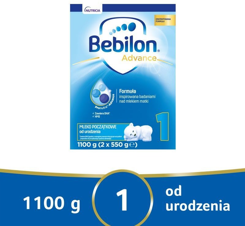 Bebilon NUTRICIA CUIJK B.V Advance 1 1100 g