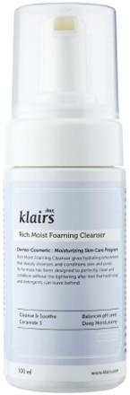 Klairs Klairs Rich Moist Foaming Cleanser Pianka do Twarzy 100ml KLAIRS-5487