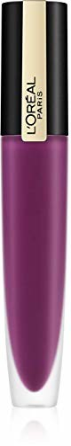 PARIS L'Oréal Rouge Signature nr 104 - Rebel, ultra lekka i mocno pigmentowana pomadka do ust, matowe wykończenie o trwałości 24 h, 7 ml