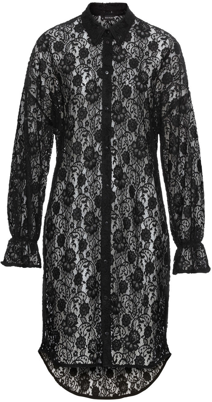 Bonprix Sukienka koronkowa czarny