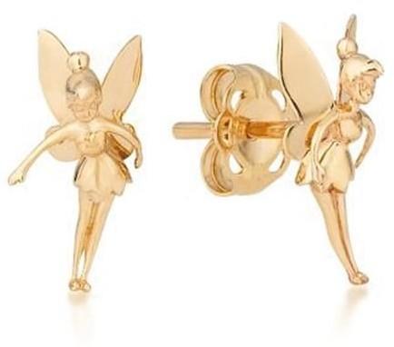 Goebel Tinker Bell - Earrings 9K Gold 12101101