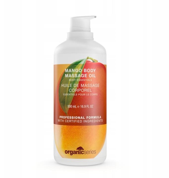 Organic Olej Oliwka do masażu ciała mango 500ml