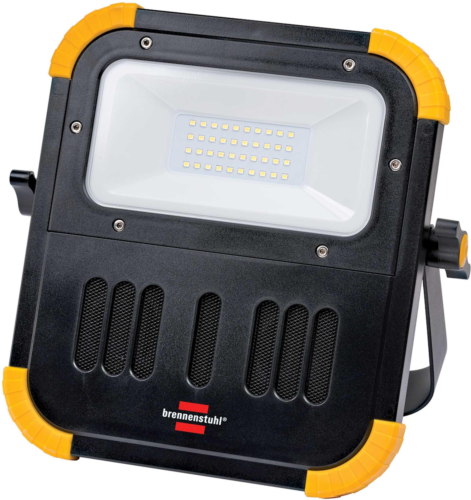 Brennenstuhl lampa naświetlacz z głośnikami bluetooth akumulatorowa blumo 1171620