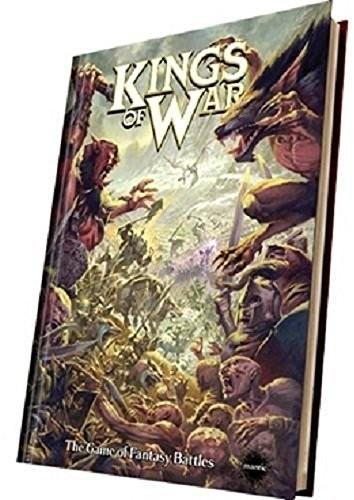 Unbekannt mantic Games 5060208868296Kings of War 2ND editionHardBack Rulebookgry