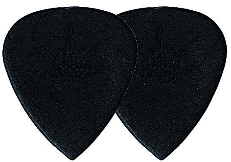 PickBoy Pick Boy Plektrum/Pick Carbon nylon, 0,88 mm, średnia, czarna, 12 sztuk GP-33R 088