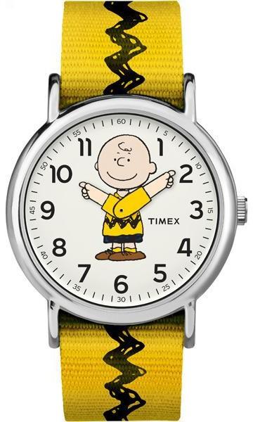 Timex Peanuts Charlie TW2R41100