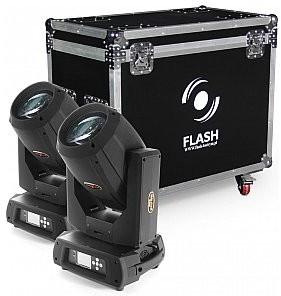 Flash Butrym 2x głowica ruchoma BEAM 17R (zestaw) F7100528