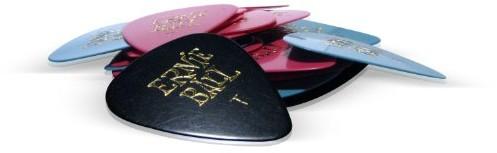 Ernie Ball 9170Regular kształt gitara plektron kostki do gitary chorągiewek, różne kolory 9170