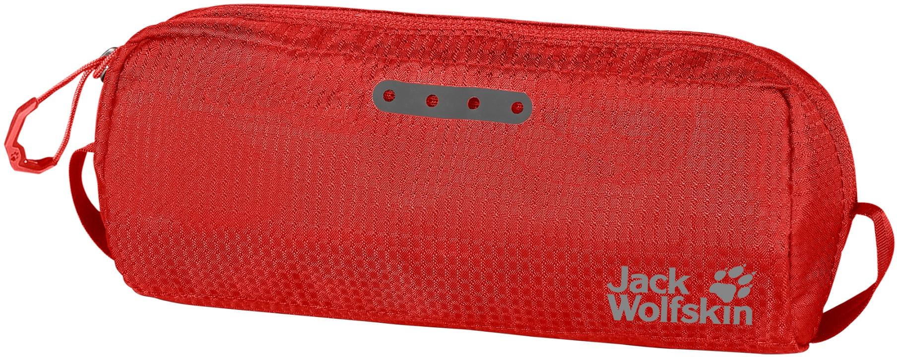 Jack Wolfskin Kosmetyczka podróżna WASHBAG AIR lava red apm_8006881-2066