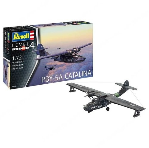 Model plastikowy Samolot Catalina PBY-5a