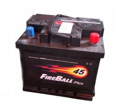FireBall 12V 45Ah 390A P+