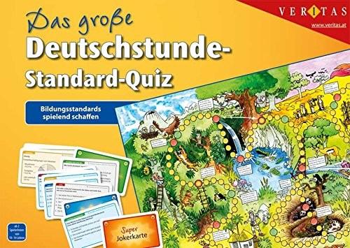 Unbekannt Znane Das große stworzenia w języku niemieckim godzin-Standard-Quiz: standardy Spielend edukacyjnej