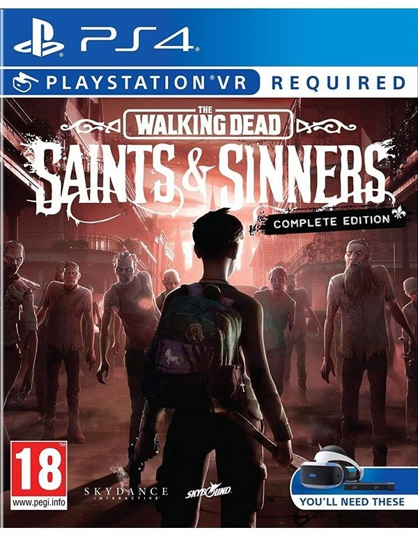 The Walking Dead: Saints & Sinners - The Complete Edition (GRA PS4 VR)