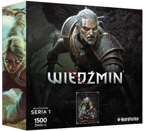 CDP Sp. z o.o. Wiedźmin, puzzle Bohaterowie Geralt