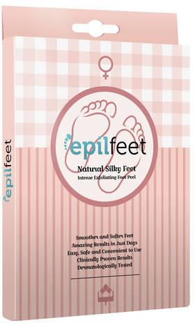 EPILFEET Maska złuszczająca do stóp na bazie kompleksu kwasów - Dla kobiet
