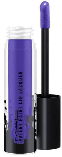 MAC Shellac Shocked Patent Paint Lip Lacquer Błyszczyk 3.8 g