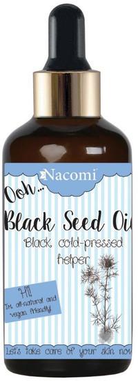 Nacomi Black Seed Oil olej z nasion czarnuszki z pipetą 50ml
