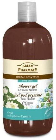 Green Pharmacy Żel pod prysznic Lotus i Jaśmin 500 ml 1234572366
